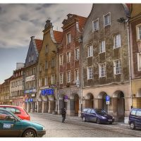 Olsztyn, stare miasto, Ольштын