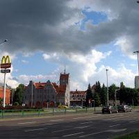 Olsztyn, straż pożarna, Ольштын