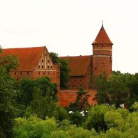 Olsztyn - zamek, Ольштын