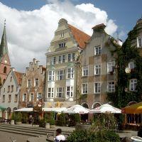 Olsztyn (Allenstein). Старый город. Old Town, Ольштын