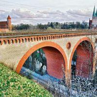 Stare kolejowe wiadukty / Olsztyn, Ольштын