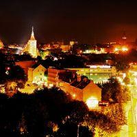 Olsztyn Nocą, Ольштын