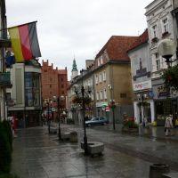 Boulevard in Olsztyn (Allenstein), Ольштын