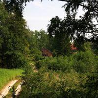 Widok w stronę  Domu myśliwskiego, Острода