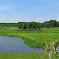 Łowisko Robinson - Ramsówko 7. Panorama krajobrazu., Шхов