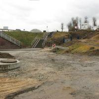 Kostrzyn Wielkopolski - tunel pod drogą kraj. nr 92 [przebudowa infrastruktury], Вржесня