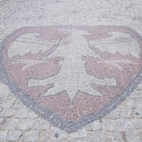 """""""Gniezno na ziemi""""/  Emblem of Gniezno, Гнезно"""
