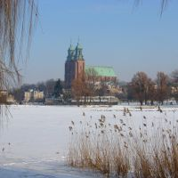 Gniezno  -  zima  2010 ., Гнезно