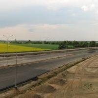 Droga ekspresowa S5 - wiadukt WN19 - widok na pn-wsch, Гостын