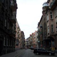 Häuserschlucht in Kalisz, Калиш