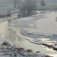 Z BURSZTYNOWEJ TRASY - Swędrnia w zimowej szacie / koniec zimy 2010/2011r./ 2, Калиш