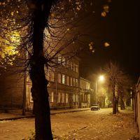 Koło nocą - ul. Grodzka Koło by night - Grodzka Street, Коло