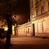 Koło w nocy - ul. Jasna Koło by night - Jasna street, Коло