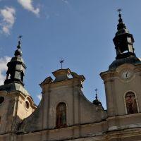 Kościół Nawiedzenia Najświętszej Maryi Panny i klasztor bernardynów XV  Koło /zk, Коло