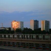 Widok na ulicę Dworcową, Конин