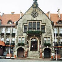 Krotoszyn - town hall, ratusz, Кротошин