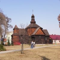 A wooden church ca 17th century, Кротошин