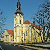 Poland. Krotoszyn, barokowy kościół św. św. Piotra i Pawła, Кротошин