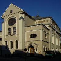 Synagoga. Synagoga została zbudowana w latach 1796-1799, Лешно