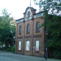 budynek przy skrzyżowaniu ulic Narutowicza i Słowackiego, Лешно