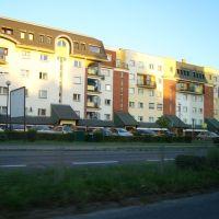 nowoczesna zabudowa mieszkaniowa przy ul. Mickiewicza, Лешно
