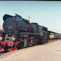 Ty51-223 na stacji w Lesznie, 14 05 1992, Лешно