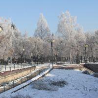 Leszno: Westerplatte - początek zimy, Лешно