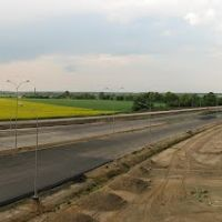Droga ekspresowa S5 - wiadukt WN19 - widok na pn-wsch, Остров-Велкопольски