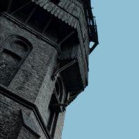 Stara wieża ciśnień na terenie pilskiego dworca kolejowego., Пила
