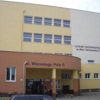 Schneidemühl. Freiherr-vom-Stein-Gymnasium., Пила