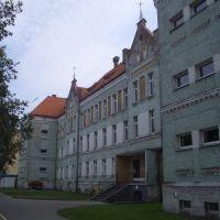 Schneidemühl. Bismarckschule (1. Gemeindeschule), 1900-02, Пила