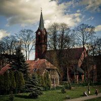 Piła, poewangelicki kościół p.w.  św. Stanisława Kostki, Пила