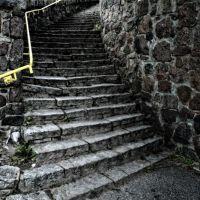 Piła. Kamienne schody, Пила