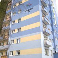 Żółto - niebieski wieżowiec przy ulicy Bydgoskiej, Пила