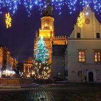 * * * WESOŁYCH ŚWIĄT i SZCZĘŚLIWEGO Nowego 2010 Roku * * * * Merry Christmas and  a Happy New Year * * *, Познань