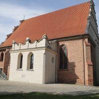 Kościół pw. św. Wojciecha w Poznaniu, widok z dziedzińca kościoła, Познань