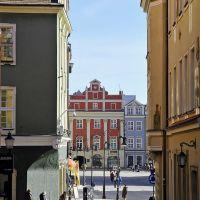 Poznan, Poland - street scene, Познань