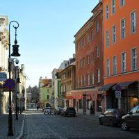 Poznań, ulica Paderewskiego, Познань