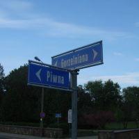 Skrzyżowanie Gorzelniana-Piwna /i bądź tu trzeźwy :)/, Турек