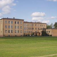 Liceum-widok od strony boiska., Турек