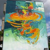 Mural ul. POW., Турек