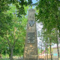 Czerlejno - obelisk, Чодзиеж