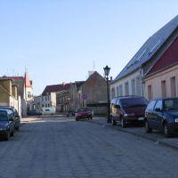 Wałcz, Piastowska street, Валч