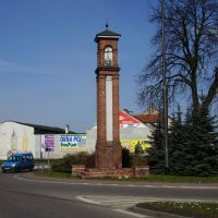 Wałcz town of West Pomeranian region - Wayside shrine, Валч