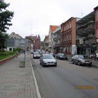 Kilińszczaków - główna ulica miasta, Валч