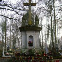 Old cemetery 02, statue, Валч