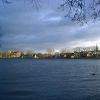 Lake Radun, shore, november, Валч