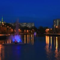 Fontanny na rzece Parsęcie., Колобржег