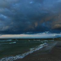 Plaża i nowe ostrogi brzegowe., Колобржег