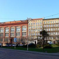 Szczecin, Biblioteka - stara część Książnicy Pomorskiej, Щецин